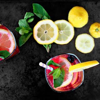 Lemon Blueberry Sangria Recipes