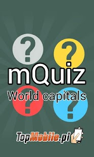 World Capitals and Cities Quiz - screenshot