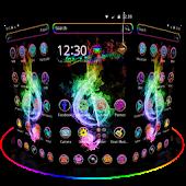 Hologram Neon Music theme APK for Blackberry