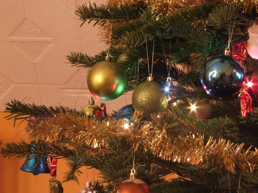 Christmas tree from me by Viktória Nagy - Public Holidays Christmas ( ball, tree, christmas, light )