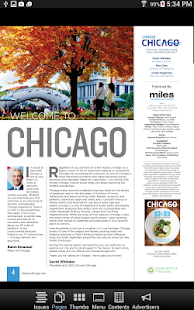 Chicago Visitors Guide - screenshot