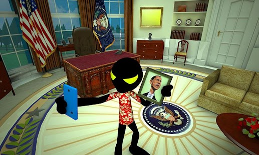 Stickman White House Escape Hack