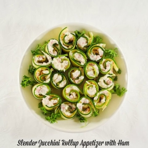 Ham and Zucchini Rollup Appetizers