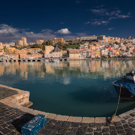 Sciacca, Italy by Krasimir Lazarov - City,  Street & Park  Historic Districts ( sciacca, vista, tourism, historic district, cityscape, italy, city skyline, panorama, city, sicily )