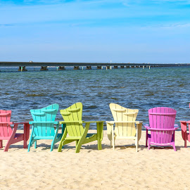 Beach Chairs by Kathy Suttles - Artistic Objects Furniture