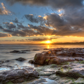 Gerroa Sunset by Ian Mills - Landscapes Sunsets & Sunrises ( hdr, sunsets, gerroa )