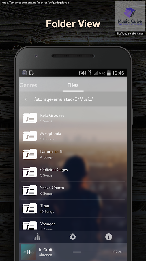 Music Cube - Pro Music Player Screenshot 6