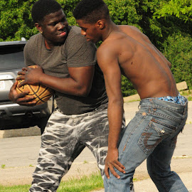 Legends of the Playground by Marcus Robinson Photos - Sports & Fitness Basketball