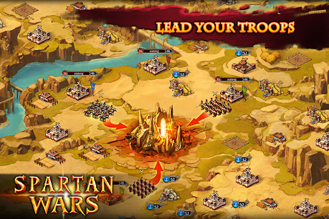 Game Spartan Wars: Blood and Fire APK for Kindle