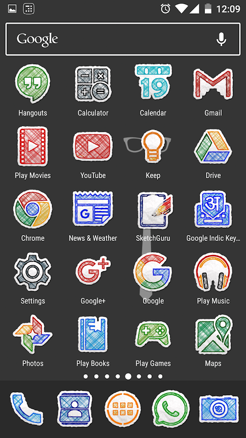 Doodle Draw Icon Pack Screenshot 4