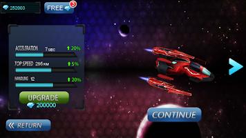 Screenshot of Space Racing 3D