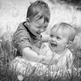 Brother and Sister by Daniel Charlton - Babies & Children Children Candids ( sister, girl, kids, brother, boy )