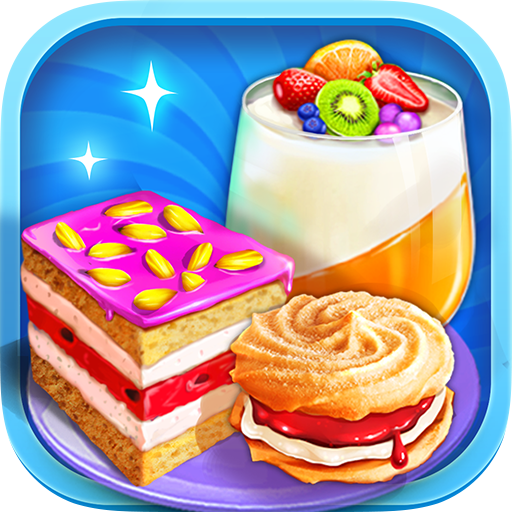 Unicorn Desserts Chef - Make & Cook Rainbow Sweets (game)