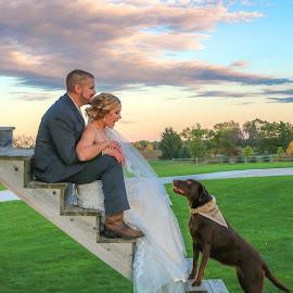Wedding Family by Kathy Suttles - Wedding Bride & Groom