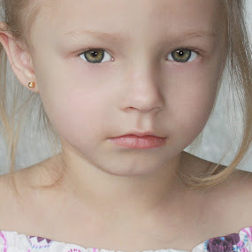 Dazzling Face  by Photographyby Tanja - Babies & Children Child Portraits ( child, face, girl, people )