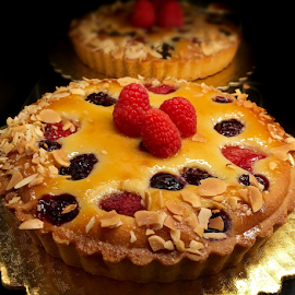 Berry Tart by Lope Piamonte Jr - Food & Drink Candy & Dessert