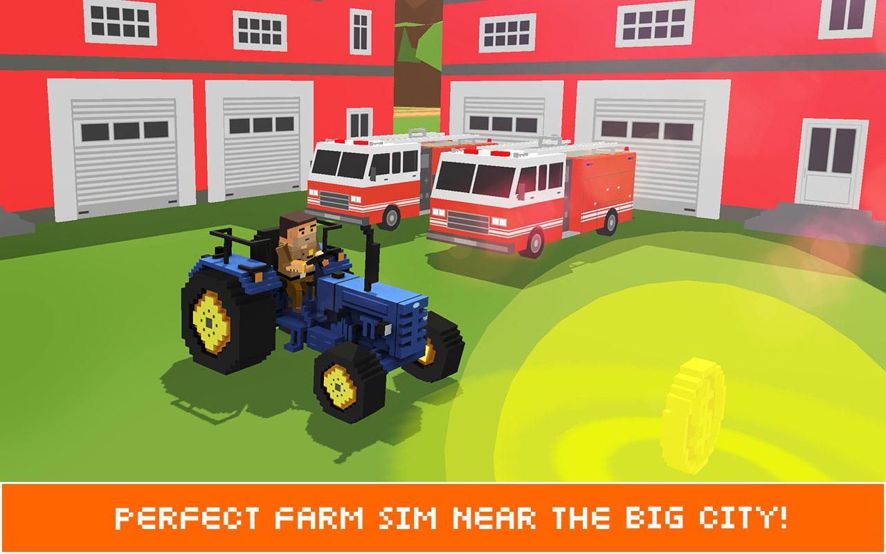Blocky Farm Außendienstler SIM android spiele download