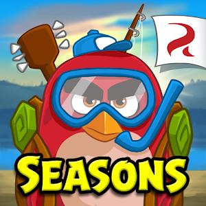 Cover art Angry Birds Seasons