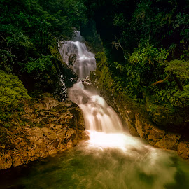 by Stanley P. - Landscapes Waterscapes ( waterfall, landscapes, waterscapes )