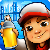 18.  Subway Surfers