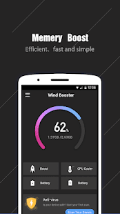 Wind Booster - Easy & Fast to optimizer phone well for pc