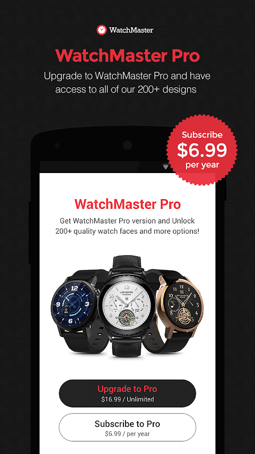WatchMaster - Watch Face Screenshot 5