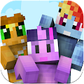 App Cute Pony skins for Minecraft APK for Kindle