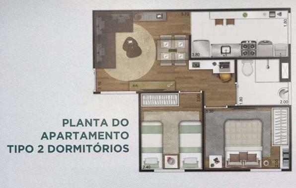 Apartamento Padrão à venda, Parque Ipê, São Paulo