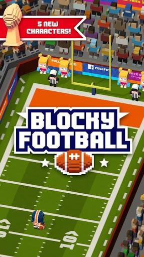 Blocky Football screenshot 1