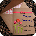 Free Download Name on Birthday Card APK for Samsung