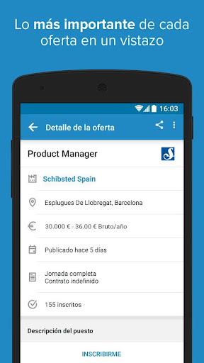 InfoJobs - Job Search screenshot 5
