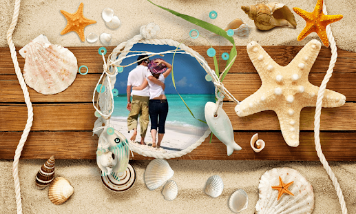 Beach Photo Frames - screenshot