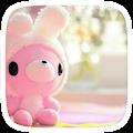 Cute Pink Bear Theme