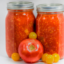 Toned Tomato Sauce by Robert George - Food & Drink Fruits & Vegetables