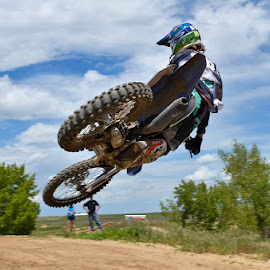 Tail whip by Richard Caverly - Sports & Fitness Motorsports