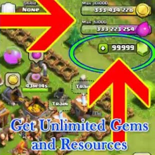 Get Unlimited Gem tip COC 2016 - screenshot