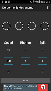 Metronome Do-dom-chit - screenshot