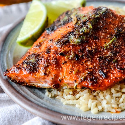30 Minute Cajun Salmon With Salted Lime Butter