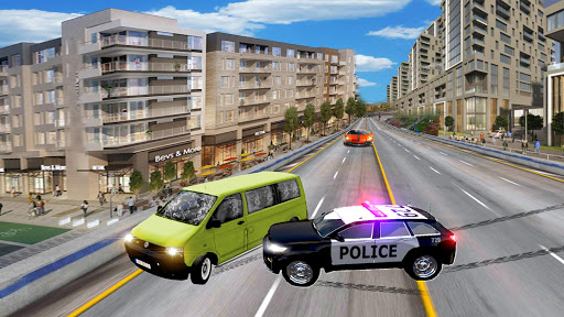 Police Highway Chase in City - Crime Racing Games screenshot 5