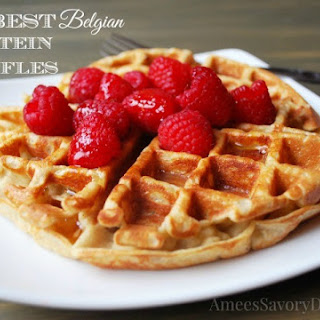 Healthy Belgian Waffles Recipes