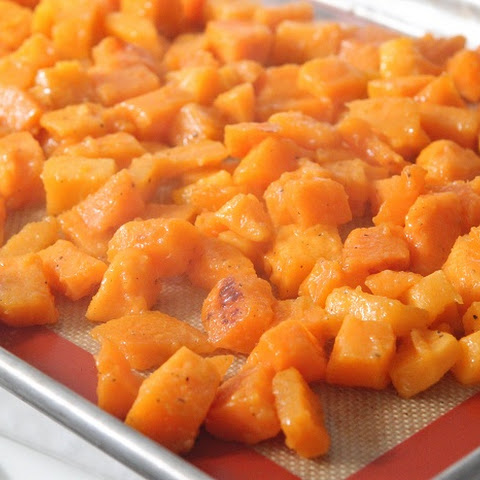 Honey Thyme Roasted Butternut Squash