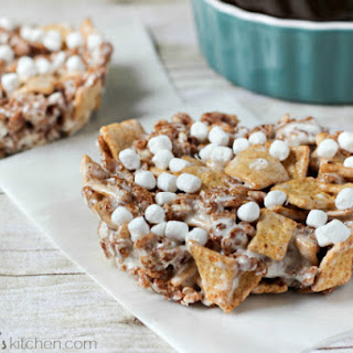 S'mores Cereal Treats for Two