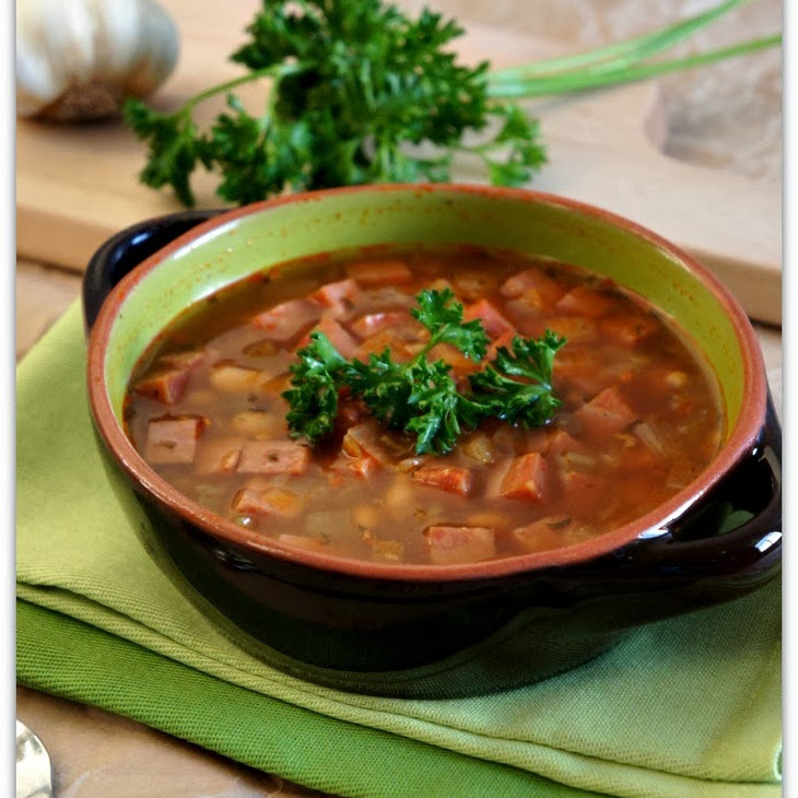recipe for slow cooker ham bean and lentil soup from 365 days of slow ...