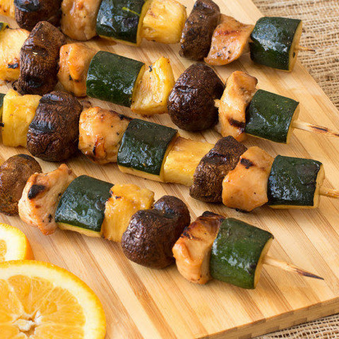 Teriyaki Orange Chicken Kebabs