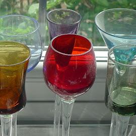 Mathematical glasses by John Rowland - Artistic Objects Glass ( glass, mathematics )