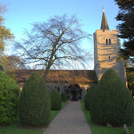 St Marys Wickford  by Mike Tricker - Buildings & Architecture Places of Worship ( wickford, church, churches, lovely church, place of worship, saxon church,  )