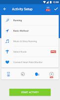 Screenshot of Runtastic Running & Fitness