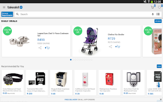 Screenshot of takealot.com Shopping App
