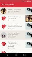 Screenshot of STUFFLE the mobile flea market