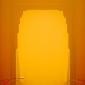 Golden Arch by Jeff Steiner - Buildings & Architecture Bridges & Suspended Structures ( golden gate bridge, fog, summer fog )